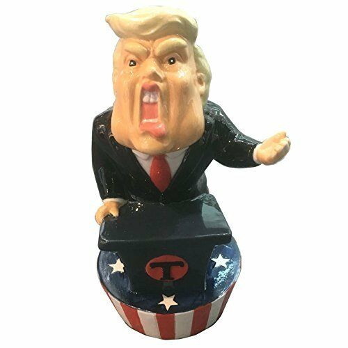 President Trump Money Box - United States of America - Donald Savings Piggy Bank
