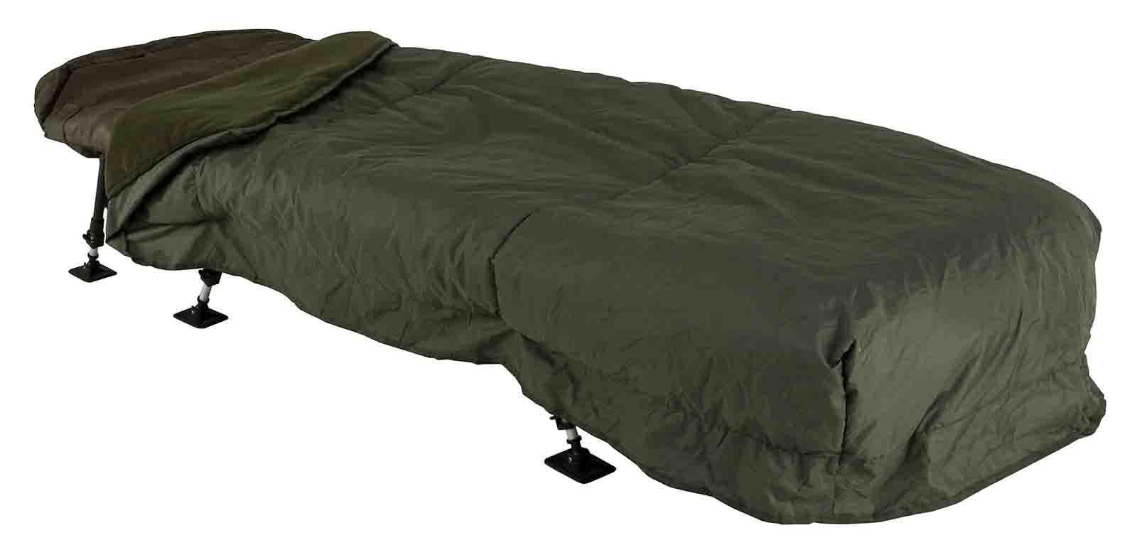 JRC New Defender Sleeping Bag & Bed Water Resistant Cover Combo Carp Fishing