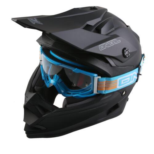 ONeal B2 Goggle Blau Moto Cross Bille Motorrad DH Mountainbike Enduro Freeride