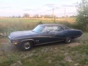 1969 Buick Skylark 4 Door Hardtop Numbers Matching Car