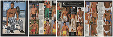 UNDERGEAR SUMMER 1997 SWIMWEAR SPECIAL BIG ISSUE HTF GQ HUNKS BLONDS SPEEDOS UND