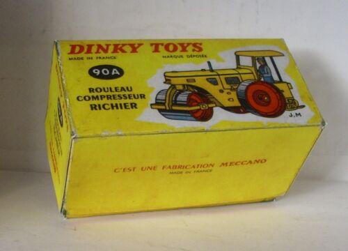 Repro Box Dinky Nr.90 A Rouleau Compresseur Richier Walze