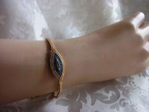 Armband-Stras-Steine-magisches-Auge-Handarbeit