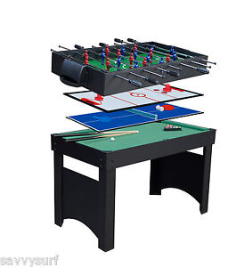 Attrayant Image Is Loading NEW Deluxe 4 In 1 Multi Games Table