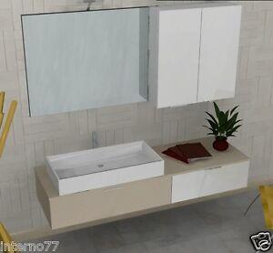 Mobile da bagno moderno b201 41 vari colori arredobagno made in italy ebay - Colori bagno moderno ...
