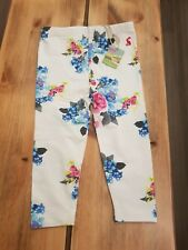 BNWT Joules Baby Girl Blue Floral Leggings 9-12