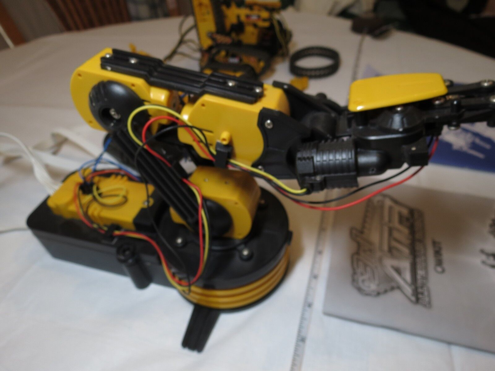 Robotic Arm-edge wiROT control arm kit 3 all in 1 ATR all 3 Terrain Robot OWIKIT LOT 081312