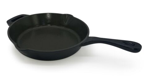Smith-Style Enameled Cast Iron Frying Pan Skillet Non-Stick Pan 26cm Grill Pan