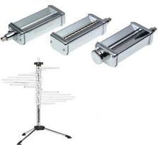 KitchenAid Kpra Pasta Roller Cutter Maker 3pc Stand Mixer attachment + KPDR Rack