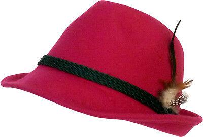 Stetig Trachtenhut Fuchsia