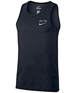 Authentic-Nike-Elite-Back-Print-Dri-Fit-Schwarz-Tank-Top-aa4507-010