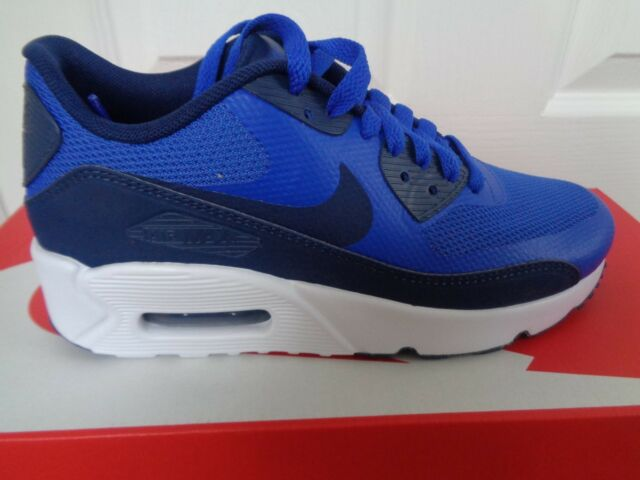 61fdaff831 Nike Air Max 90 Ultra 2.0 GS Blue Navy Kids Running Shoes SNEAKERS ...