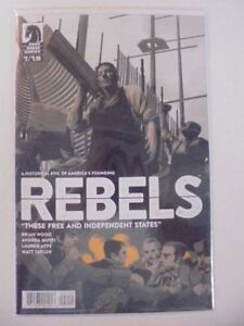 Rebels: These Free and Independent States #2 Dark Horse NM Comics Book
