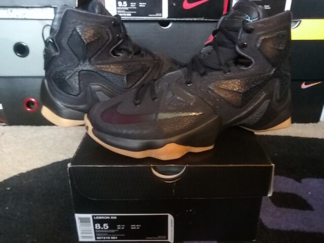 0f27ded86801 Nike Air Zoom Max LeBron James XIII 13 Black Lion Anthracite Gum xiv 807219  001