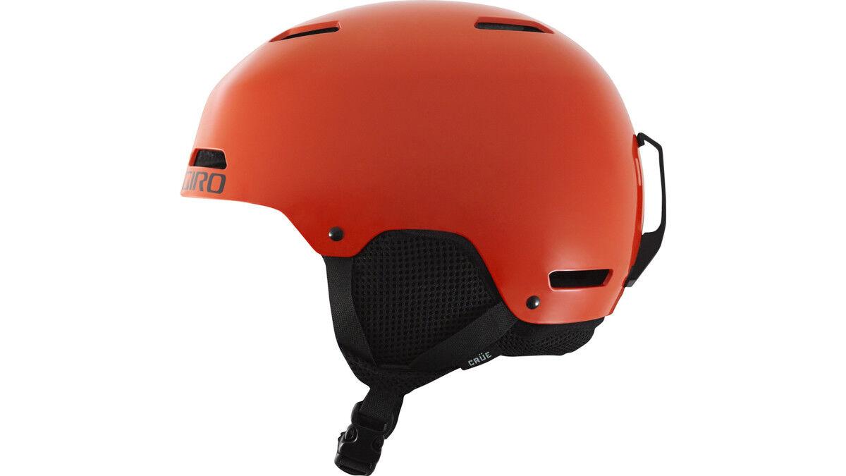 Giro Casco de Snowboard Esquí Giro S  Crüe red colors Lisos Ohrenpolster  online cheap