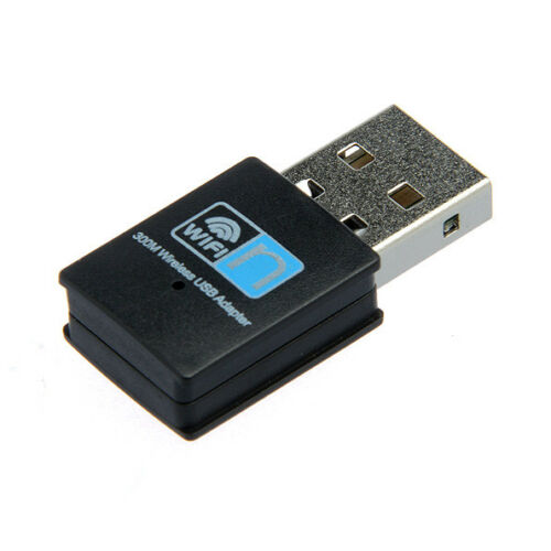 Internet Receiver 300Mbps I Wireless Wi-Fi USB Adapter Dongle 802.11n//g//b
