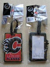 Calgary Flames - NHL Hockey 3d Rubberized Luggage Bag Tag