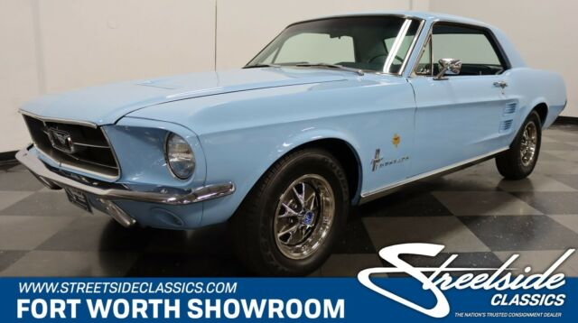1967 Ford Mustang Lone Star Limited Bluebonnet