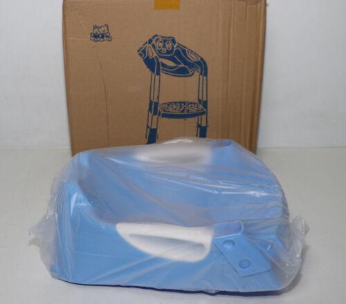 Toilettentrainer Tragbares Kindertöpfchen Sitz mit Leiter QG blau