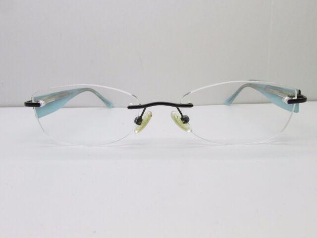 Marchon Airlock 2 Al800/86 Eyeglasses Frames 52-18-135 Rimless Black ...