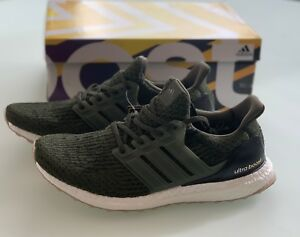 26173d34db2 NEW DS Adidas Ultra Boost 3.0 Night Cargo Green US Size 10.5 S80637 ...