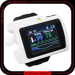 PULSEOXYMETER-DRAAGBAAR-ECG-APPARAAT-HEART-MONITOR-PULSE-MES-BLUETOOTH-OMD
