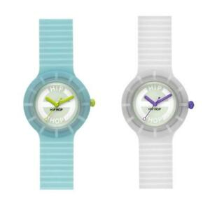 Orologio-HIP-HOP-GLOWING-IN-THE-DARK-Small-32mm-Fluorescente-Colorato-Uomo-Donna