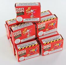 20 Boxes PARTY SNAPS Fun Loud Bang Filler Kids Adults Loot Pack 1000 Snap Bags