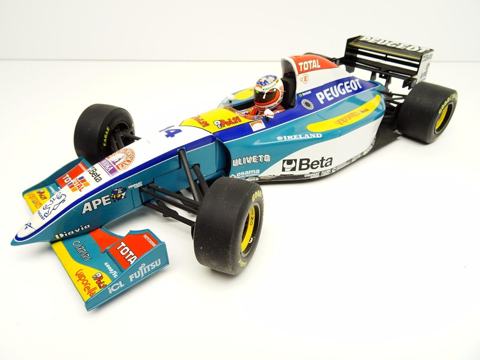 Pauls Model Art 1 18 Formula 1 Jordan Peugeot Barrichello No. 14 Top c3031 RARE