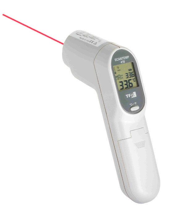 Infrarot Thermometer Scantemp 410 Tfa Tfa 410 31 1115 Temperatur