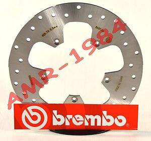 DISCO-FRENO-POSTERIORE-BREMBO-MALAGUTI-PASSWORD-CK-250-DAL-2005-68B40798-08MQ212