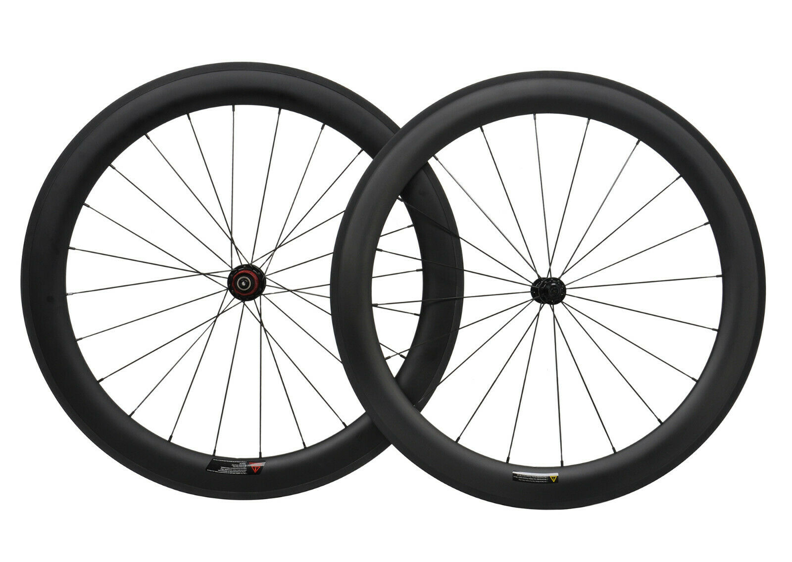 Sapim Carbon Wheels 60mm Clincher Road Bicycle wheelset 700C UD Matt Rim Novatec