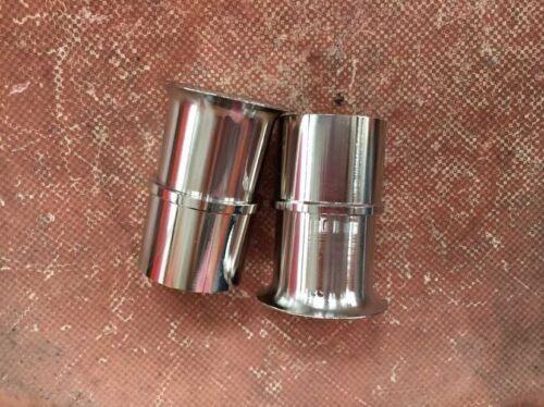 2pc pair Velocity Stacks air horn ram pipes trumpet WEBER 40 DCOE DELLORTO SOLEX