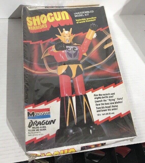 Vintage Monogram 1977 Shogun Warriors Dragun Model Kit SEALED