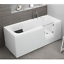 miniatura 9 - Badewanne mit Tür rechts und integrierter abnehmbarer Sitzbank für Senioren 170