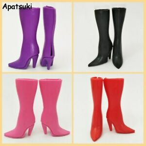 High Heel Shoes Miniature Figures Footwear Footwear Fashion Doll Accessories