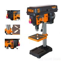 Bench Top Mini Drill Press 5 Speed For Wood Or Metal Hobby Table Top 8 Inch