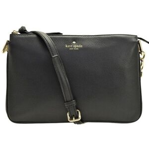 NWT-KATE-SPADE-NEW-YORK-Larchmont-Avenue-Madelyne-Croosbody-Bag-Black-5503-NEW