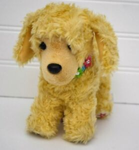 Details About American Girl Tan Poseable Apricot Poodle Puppy Dog W Flower Collar 2014 Bkb85