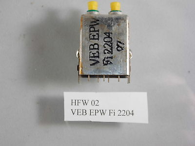 Filter/Bandfilter im Aluminiumgehäuse Hersteller HFW, Versch. Typen je 10 Stück