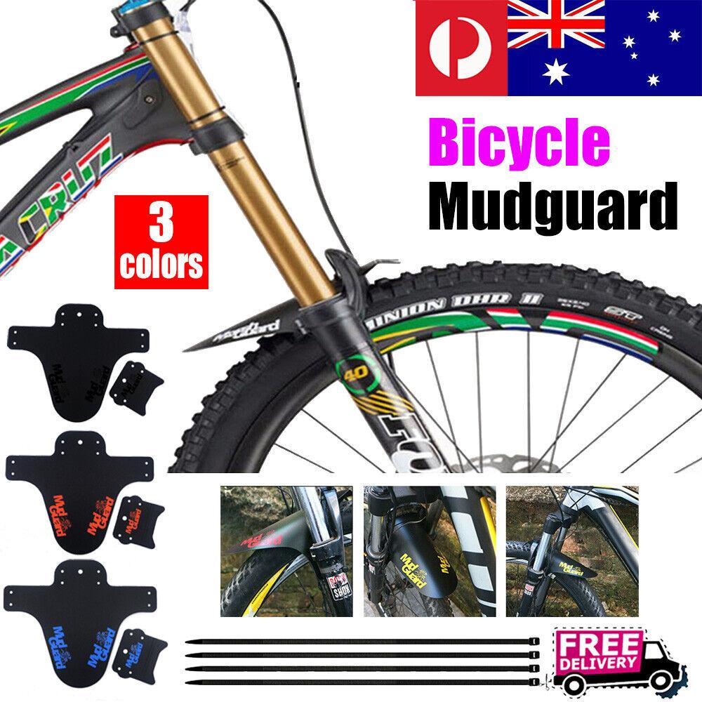 Plastic Mountain Bike Mud Guard Fenders Mountain Bicycle Rear Wheel Mudguards
