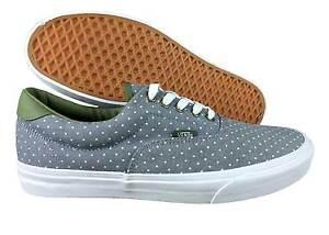 86010d31d8 VANS. Era 59. Chambray Dots. Green   Grey Shoe. Mens US Size 11.5 ...