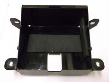 """Black Battery Tray for 7 5/16"""" x 6 7/8"""" Batteries on Custom Choppers- NEW!!!"""