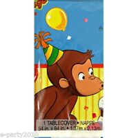 Curious George Plastic Tablecover Birthday Party Supplies Room Decorations