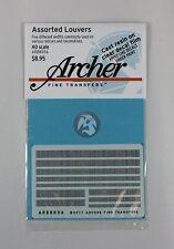 Archer HO-Scale 1/87 Resin Louver Assortment Mix (five different widths) AR88056