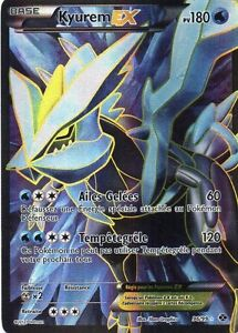 Kyurem ex full art 180pv 96 99 neuf carte pokemon ebay - Carte kyurem ex ...