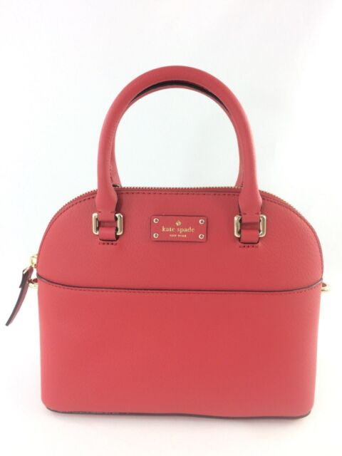 Authentic Kate Spade Grove Street Mini Carli Leather Satchel Handbag