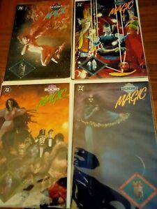 Books of Magic 1-4 full run mid grade Neil Gain an Sandman fans Charles vess art