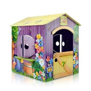 Casetta per Bambini in Legno a Tema Winnie the Pooh per Esterni e Interni