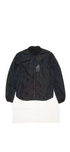 Black Acne Studios Silas Bomber Jacket - Medium